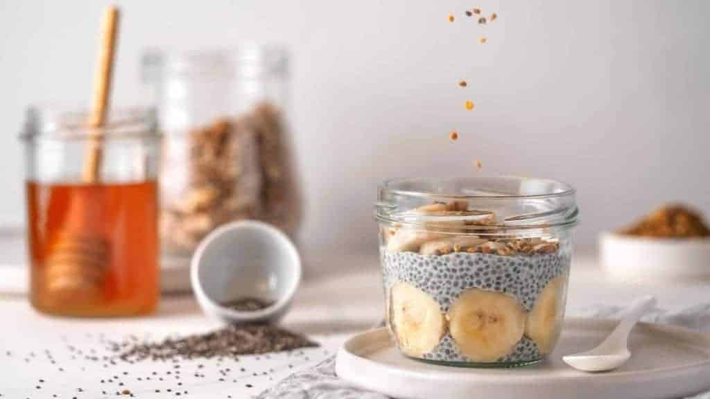 Banana Chia Pudding Treat