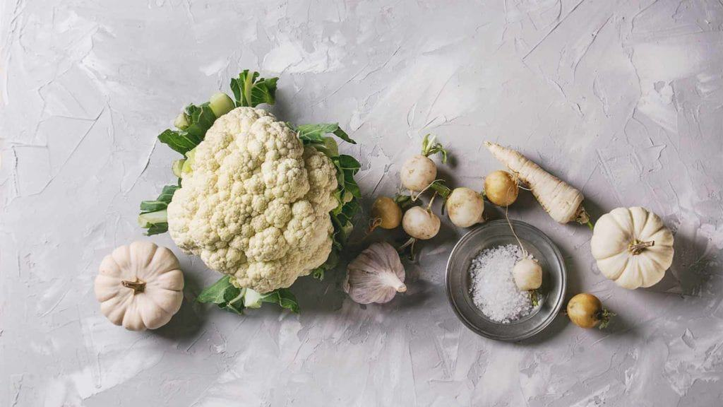 Roasted Garlic Parmesan Cauliflower