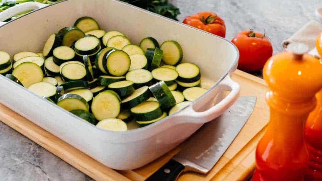 Yellow Squash & Zucchini Gratin